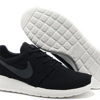 n006 Nike Roshe Run Mesh (Black/Grey)