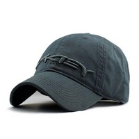 PEAPDQ7 Gray Oakley Baseball Cap Hat