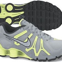 Womens Nike Shox Turbo+ 13 Running Shoe Wolf Grey/Barely Volt/Anthracite/Wolf Grey Size 9