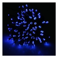 AGPtek® Blue 100 LED Holiday String Light for Outdoor and Indoor Use (Solar Powered)