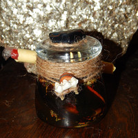 Dark Arts Honey Jar - Honey Jar Spell to Cast Hexes and Curses - Torment/Torture Spell - Hoodoo Spell Jar - Witch Jar - Magickal Curio