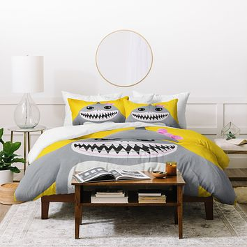 Mandy Hazell Shark Tooth Sally Duvet Cover
