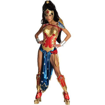 Anime - Wonder Woman Adult Costume - Small