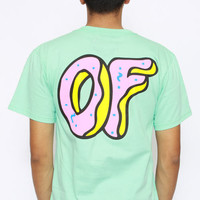 Odd Future, OF Donut T-Shirt - Mint...