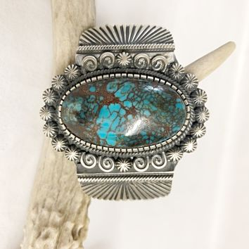 Sunwest Jewelry~ Large Egyptian Turquoise Cuff