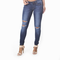 Abdual Distress Denim Pants