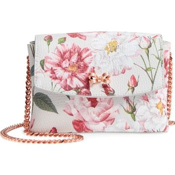 Ted Baker London Bow Leather Crossbody Bag | Nordstrom