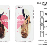 Brunette Blonde White Best Friend Phone Cases - 365 Printing Inc