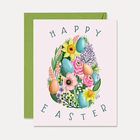 Happy Easter - A2 Note Card