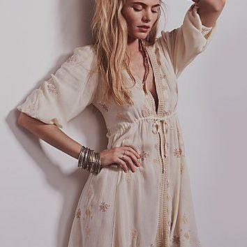 Free People Womens Stargazer Mini Dress