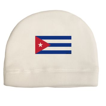 Cuba Flag Cubana Child Fleece Beanie Cap Hat by TooLoud