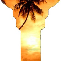 280 SC1 Hawaii Sunset House Key [SC1 HAWAII SUNSET] - $0.65 : Key Craze, Wholesale Key Blanks and Accessories