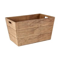 Tapered Wooden Box | Kmart