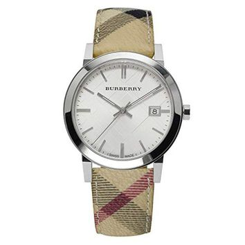 DCCK Burberry BU9025 Watch – for Women, Leather Strap