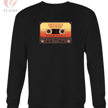 Guardians Of The Galaxy Awesome Mix Tape Long Sweater