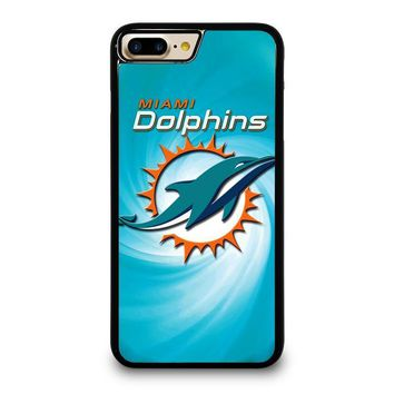 miami dolphins nfl iphone 4 4s 5 5s se 5c 6 6s 7 8 plus x case  number 1