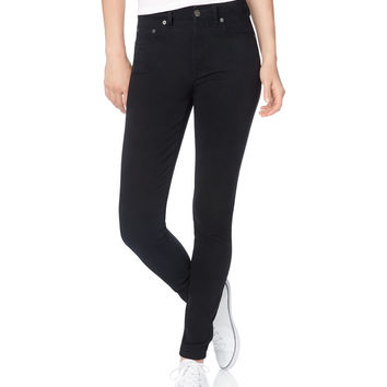 Aeropostale  Womens Solid High-Waisted Uniform Jeggings
