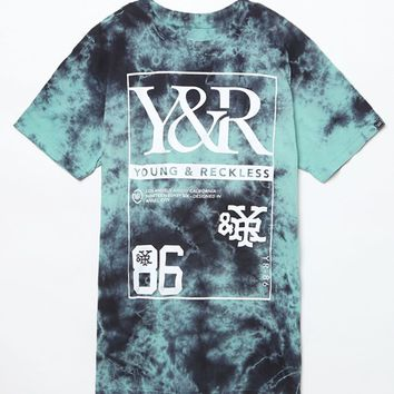 Young & Reckless New Regime T-Shirt - Mens Tee - Tie Dye