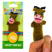 Brown Cow Finger Puppet
