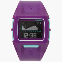 Nixon Lodown S Watch Purple One Size For Men 25958775001