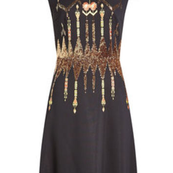 Dress with Sequins and Bead Embellishment - Etro | WOMEN | US STYLEBOP.COM