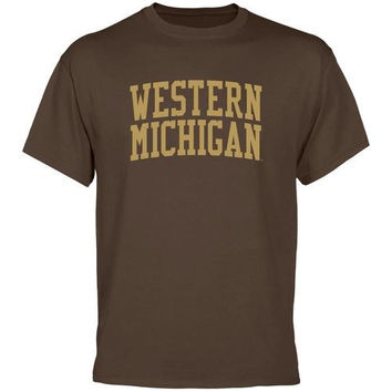 Western Michigan Broncos Basic Arch T-Shirt - Brown