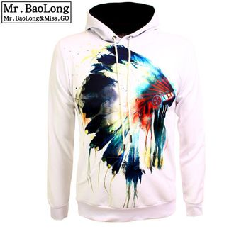 17 Tribal Skull Print Hoodies For Men/Women 3d Sweatshirts Europe America Style Hip Hop Hoody Outfits Tracksuits Drop Shipping