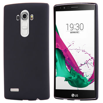 For LG Optimus G4 Mobile Phone Case Ultra Thin Fashion Plastic Accessories Cover For LG G4 H815 H810 H811 VS986 LS991 F500 Black