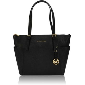 MICHAEL Michael Kors Jet Set Top-Zip Saffiano Tote at Von Maur
