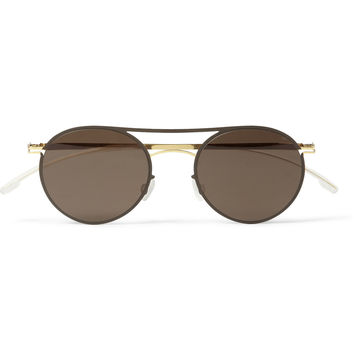Mykita - Tore Lightweight Round-Frame Metal Sunglasses | MR PORTER