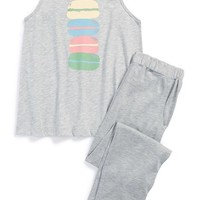 Girl's Tucker + Tate Two-Piece Pajama Set