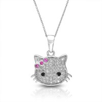 Bling Jewelry Konnichiwa Cat Charm
