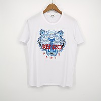 KENZ0 Tiger embroidery T-shirt