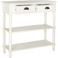 Salem Console Table With Storage White