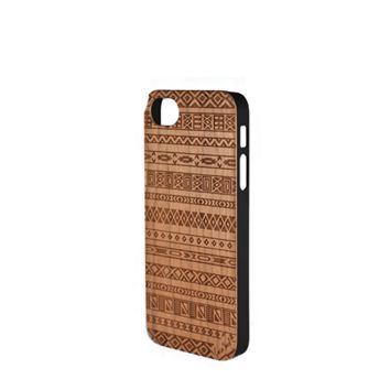 CLEARANCE SALE - Case Yard Carved Wood Phone Case - Aztec - iPhone 6 ONLY