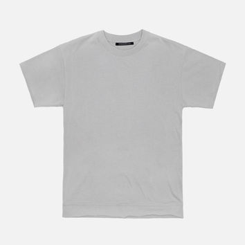 Heavy Cropped Tee / Plaster