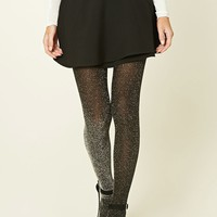 Semi-Sheer Shimmery Tights