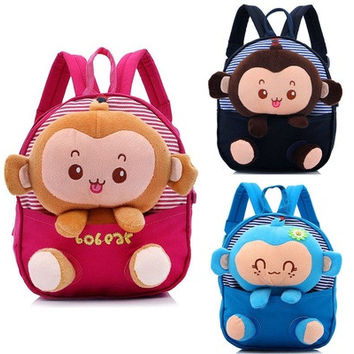 Toddler Kids Baby Children Cartoon Backpack Schoolbag Shoulder School Bags [8081691207]
