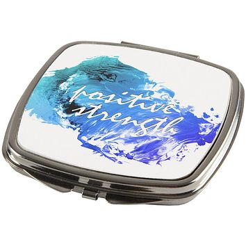 Inspirational Words Positive Strength Compact