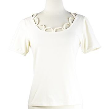 Palermo Blouse in Cream