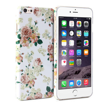 Snap Cover Glossy (Floral Pattern) for Apple iPhone 6 Plus (5.5 inch Display)