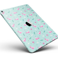 "The Pink and Mint Watermelon Cocktail Pattern Full Body Skin for the iPad Pro (12.9"" or 9.7"" available)"