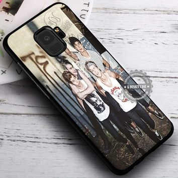 5SOS Clifford Hemming Calum Hood Irwin iPhone X 8 7 Plus 6s Cases Samsung Galaxy S9 S8 Plus S7 edge NOTE 8 Covers #SamsungS9 #iphoneX