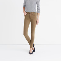 "9"" High-Rise Skinny Jeans: Garment-Dyed Edition : 