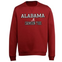 Alabama Crimson Tide Standard Stack Fleece Sweatshirt - Crimson