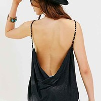 Pins And Needles Draped Studded Tank Top-