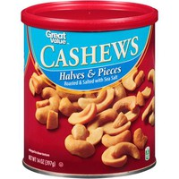 Great Value Cashew Halves & Pieces, 14 oz - Walmart.com