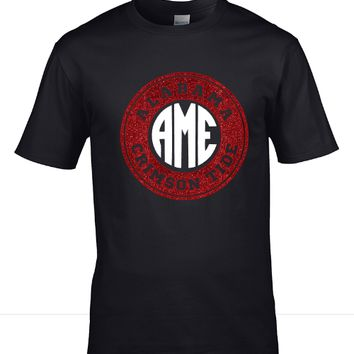 Alabama Monogram Shirt - Black