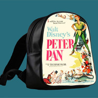 Peter Pan Walt Disney Classic for Backpack / Custom Bag / School Bag / Children Bag / Custom School Bag *