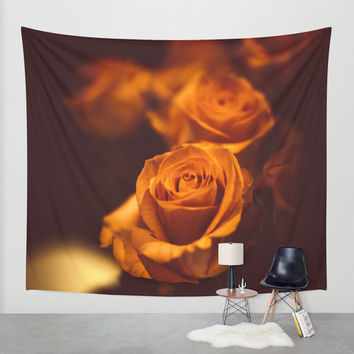 The gentleman Wall Tapestry by HappyMelvin